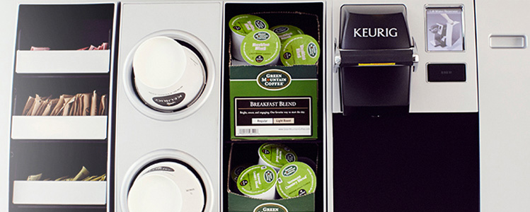 From K-Cups to Bean to Cup, ImpactOffice Coffee Service offers the best selection of coffee brewers and coffees for all types of offices and budgets.
